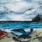 STRANGER#13 2012 キャンバスにアクリル絵具 455x652