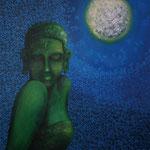 Blue Moon 2012 キャンバスにアクリル絵具 803x652