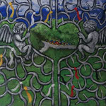 SOUL GATE PARK 2015 キャンバスにアクリル絵具 273x410