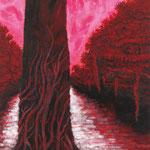 毅(き)2011 キャンバスにアクリル絵具 1167x910