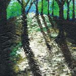 森林公園 2012 キャンバスにアクリル絵具 227x158