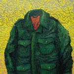 Military Jacket 2012 キャンバスにアクリル絵具 333x190