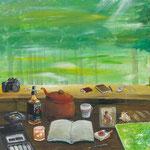 記(き)2011 キャンバスにアクリル絵具 652x803