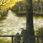 企(き)2011 キャンバスにアクリル絵具 910x1167