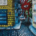 STRANGER#1 2012 キャンバスにアクリル絵具 530x455