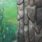 岐(き)2011 キャンバスにアクリル絵具 803x652