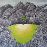 危(き)2011 キャンバスにアクリル絵具 530x652