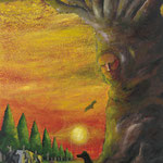 帰(き)2011 キャンバスにアクリル絵具 1620x1303