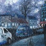 PARIS#3 2012 キャンバスにアクリル絵具 220x273