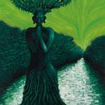 気(き)2011 キャンバスにアクリル絵具 1620x1303