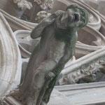 Gargoyl an der Kirche