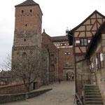 Blick zur Kaiserburg