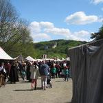 Blick zur Burg Freienfels