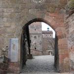Eingang zur Kaiserburg