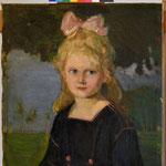 Mädchenporträt, Endzustand