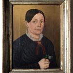 Damenporträt Vorzustand