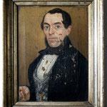 Herrenporträt Vorzustand