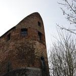 Partie supérieure de la tour de Gavre - Photo Emilie Nisolle