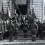 Les Gordon Highlanders à Chièvres - Collection MIBAC