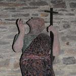Chapelle Saint-Jean- sculpture de Saint Jean-Baptiste - Photo de Emilie Nisolle