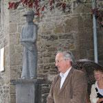 Bénédiction de la statue du Père Damien - Photo de Emilie Nisolle