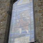 Eglise Saint-Christophe de Grosage (vitrail) - Photo Emilie Nisolle