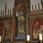 Retable de Notre-Dame de la Fontaine - Photos de Dolorès Ingels