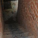 Tour de Gavre - escalier du 2ème niveau - Photo Emilie Nisolle