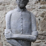 Fête de la Ladrerie - Statue de Damien