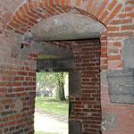 Tour de Gavre - Rez-de-chaussée - arcade de porte - Photo Emilie Nisolle