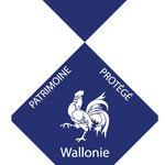 Logo de protection du patrimoine- Région Wallonne
