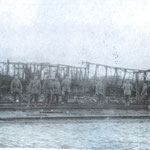 Après l'explosion du dépôt de munitions à Mévergnies - Collection MIBAC