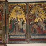 Retable de Notre-Dame de la Fontaine - Les miracles - Photos de Dolorès Ingels