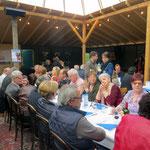 Membres de Valais-Argentine au repas