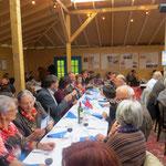 Repas aux saveurs argentines avec la présente de Mme Esther Waeber Kalbermatten, conseillère d'Etat du Valais