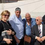 à partir de la gauche : Mm Nezzar Djamila, Ali hadj tahar, Bouabdellah Hassene et Ammar Allalouche