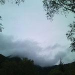 雲がすごいことに……。