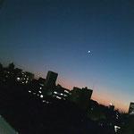 そして夕暮れの空もまた美しい…