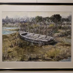相模川の船