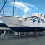 Careening boat Occitanie