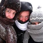 Bursa, entre filles et sous la neige!