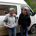 Sylvie et Dominique, tour d'Europe et de Turquie en camionnette amménagée