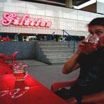 le plaisir d'une petite biere en terrasse retrouve!!!