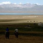 petit tour à cheval à la kirghize