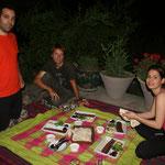 chez Amirali avec Nasli, à Téhéran