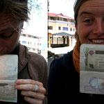 Visas pour l'Iran en poche!