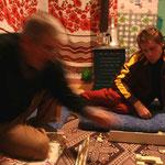 Partie de Okey - jeu traditionnel turc