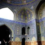 intérieur de la mosquée de l'immam