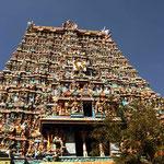 le temple de Meenakshi a Madurai