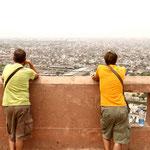 vue sur Jaipur